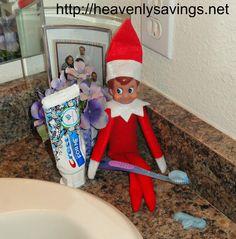 Elf on the Shelf Ideas Day #10