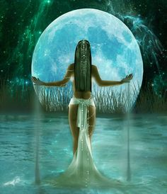 DragonsFaeriesElves&theUnseen : Oshun the African Queen of all Waters African Queen Tattoo, African Tattoo, African Mythology, African Goddess, Greek Mythology, Oshun Goddess, Goddess Art, Black Art Pictures, Cool Pictures