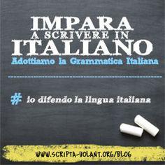 Io difendo la lingua italiana