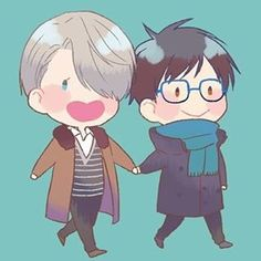 Yuri on ice/ Victor Nikiforov and Yuri Katsuki