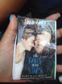The tissues they handed out at the TFIOS Premiere. OMG THIS IS PERFECT AND VERY NESSISARY