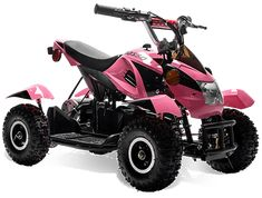 Ultimate electric quad four wheelers for girls ages 3 - 8 years - Enjoy the outdoor with Disc brake system for Child Safety. Electric Power Lights in Pink Motorcycle for Girls. Pink Four Wheeler, Four Wheelers For Kids, Luxury Kid Cars, Cars For Sale Philippines, Kids Atv, Pink Motorcycle, Atv Riding, Dirt Bike Girl, Best Christmas Presents
