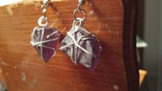 Hey, I found this really awesome Etsy listing at https://www.etsy.com/listing/196787218/wire-wrapped-seaglass-earrings