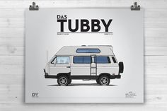 Owners Statement: Das Tubby is our 1990 Multivan. It was an all California Carat tintop that received one of the first ever North American Hightops. The van was totally redone: lifted, big brakes, sol