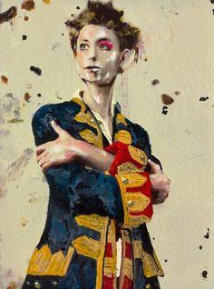 """Lita Cabellut - Contemporary Artist - Portrait Painting - """" Le Petit Prince """""""