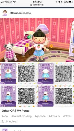 Acnl - Animal Crossing - Welcome Haar Design Animal Crossing 3ds, Animal Crossing Qr Codes Clothes, Animal Crossing Pocket Camp, Cool Pictures, Beautiful Pictures, Motif Acnl, Ac New Leaf, Motifs Animal, Camping Photography