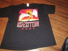 Beautiful Led-Zeppelin T-Shirt  Size XL  NEW  FREE SHIPPING