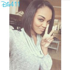 Actually,that wasn't a hair cut- She said she never cut or dyed her hair . It was a wig/weave. --- China Anne McClain Looks Beautiful With A New Haircut November 2013 - Teen Celebrities, Beautiful Celebrities, Beautiful People, Celebs, China Anne Mcclain Instagram, Celebrity Selfies, Zendaya Style, Dye My Hair, New Haircuts