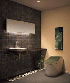 Panasonic アラウーノ トイレ [XCH1302] タイプ2 床排水タイプ 全自動お掃除トイレ (mr[海松色])