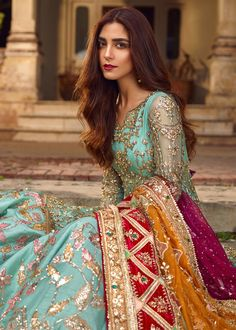 latest fashion racent bridal photoshoot by maya ali, gorgeous look, stylish pakistani dress design, bridal photoshoot ideas Beautiful Bridal Dresses, Pakistani Formal Dresses, Pakistani Wedding Outfits, Pakistani Bridal Dresses, Pakistani Wedding Dresses, Pakistani Dress Design, Bridal Outfits, Indian Dresses, Indian Outfits