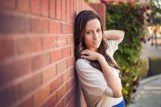 Senior Portrait Photographer Bakersfield, California // Makenzie Photography - makenziephoto.com // creative high school senior girl portrait ideas