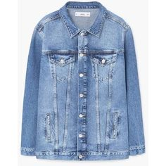 Dsquared2 Ski sleeveless denim jacket ($360) ❤ liked on Polyvore ...