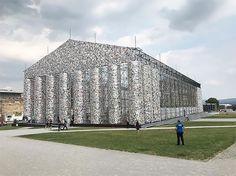 Documenta Kassel June Sept Kassel - Artist uses banned books to create monumental sculpture against political oppression