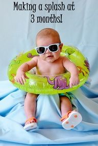 3 month photo summer for August