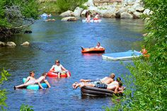 Tube down the Yampah river in Steamboat Springs, Co. Top 10 Steamboat Springs to do list.