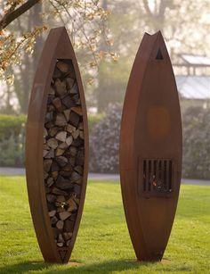 Zeno Products Corten Steel Outdoor Pieces