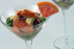 Crab, Avocado & Grapefruit Salad