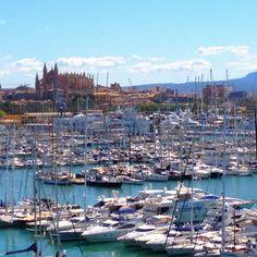 Marítimo y Catedral Palma de #Mallorca