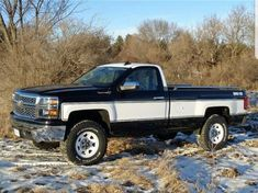 trucks chevy old New Chevy Truck, Silverado Truck, Chevrolet Trucks, Chevrolet Silverado, 2015 Silverado, Silverado 1500, Old Pickup Trucks, Gm Trucks, Diesel Trucks