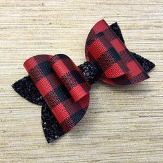 30 BLESSING Good Girl Costume Boutique 6.5 Inch Ring Hair Bow Clip 98 No Custom