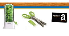 New Prizes! Prepara Herb Savor, 5-blade Herb Scissors, or a $100 Amazon gift card! - http://gimmiefreebies.com/new-prizes-prepara-herb-savor-5-blade-herb-scissors-or-a-100-amazon-gift-card/ ##Contest #Giveaway #Giveaways #Sweeps #Sweepstakes #ad