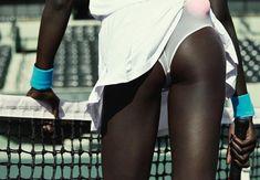Ataui Deng photographed by Julia Noni for Fat Man Magazine