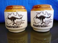 Salt & Pepper shakers - Australia