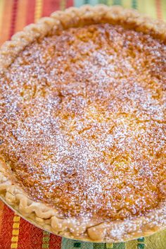 Pineapple Pie – Pineapple Coconut Chess Pie – so easy and it tastes fantastic! Great for parties and potlucks! Pineapple Coconut Pie Recipe, Pineapple Pie Recipes, Pie Dessert, Dessert Recipes, Desserts, Pumpkin Pecan Pie, Chess Pie, Crushed Pineapple, Healthy Food Recipes