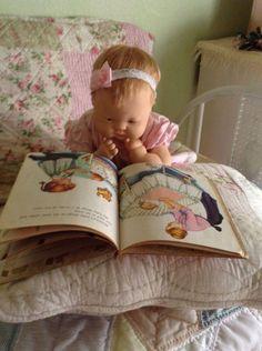 Baby Dear & Baby Dear Golden Book has always been my favorite. Doll Toys, Baby Dolls, Toddler Dolls, Old Dolls, Antique Dolls, Dollhouse Dolls, Miniature Dolls, Effanbee Dolls, Storybook Cottage