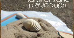 Natural Sand Playdough | Creative Playhouse