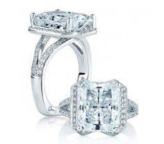 Trendy Diamond Rings :    A. Jaffe MES403  - #Rings https://youfashion.net/wedding/rings/diamond-rings-a-jaffe-mes403/