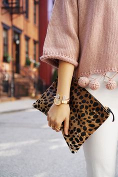 Must Have Fall Accessory: Leopard Clutch