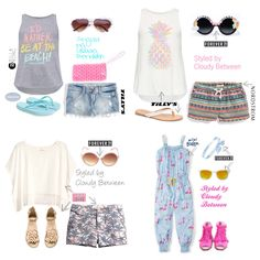 cloudy between   Clothing styled for tweens