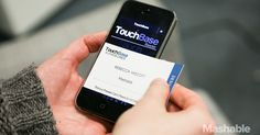 TouchBase has proposed a solution that falls somewhere between traditional business cards and the digitized technologies of apps already on the market..