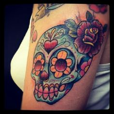 I really want a sugar skull