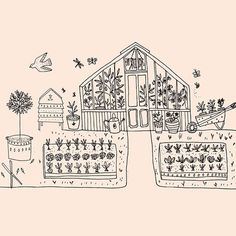 Ryn Frank is a freelance illustrator, specialising in hand drawn illustrations. Antique Illustration, Cute Illustration, Graphic Design Illustration, Doodle Wall, Jar Art, Collage Design, Funky Art, Cartography, Pictures To Draw
