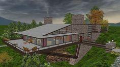 vandamm house north by northwest | Vandamm+house