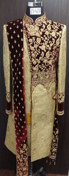 44 Ideas for clothes design sketches mens Sherwani For Men Wedding, Sherwani Groom, Mens Sherwani, Wedding Outfits For Groom, Indian Wedding Outfits, Indian Groom Wear, Indian Attire, Indian Men Fashion, Groom Fashion