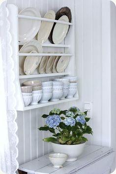 LILLA BLANKA: Blå hortensia ~ Blue hydrangea