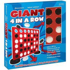 Giant Indoor/Outdoor 4-in-a-Row Game