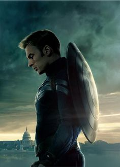 P0402 Captain America The Winter Soldier Captain Rogers capital Home Decor Posters 40x60cm $6.99