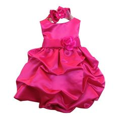 Baby kleid grau rosa