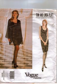 90s Vogue American Designer Pattern 1502 Tom and by CloesCloset, $20.00