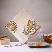 De gama alta pintada a mano decorativos de cerámica placa colgante de la personalidad creativa de carne plato de pasta(China (Mainland))