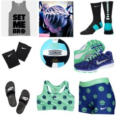 I need this outfit for Volleyball! – World Soccer News Volleyball Shirts, Volleyball Practice, Volleyball Outfits, Cheer Outfits, Volleyball Players, Beach Volleyball, Sporty Outfits, Athletic Outfits, Athletic Wear
