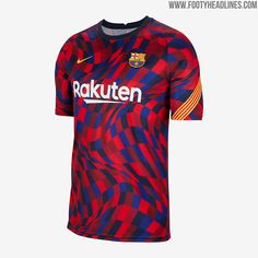 Spectacular FC Barcelona 20-21 Pre-Match Shirt Released - Inspired by Gaudí Mosaics - Footy Headlines Barcelona Jerseys, Fc Barcelona, Football Tops, Football Jerseys, Real Madrid 2014, Gaudi Mosaic, Shirt Drawing, Football Outfits, Soccer Kits
