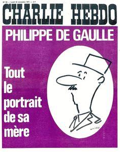 Charlie Hebdo - # 53 - 22 Novembre 1971 - Couverture : Wolinski