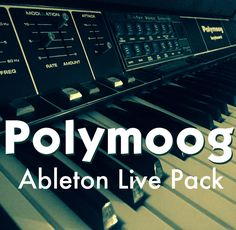 Last chance to get the Polymoog #Ableton Live Pack by joining the AfroDJMac Music Production Club!
