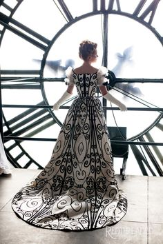 Making of: Ironwork Worth gown replica YWU