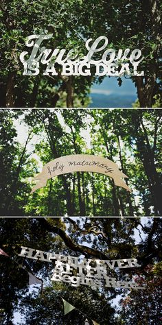 Wedding ceremony banners Five Ways to Decorate Your Garden Ceremony